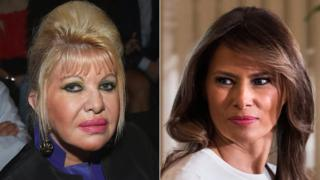 Ivana Trump and Melania Trump