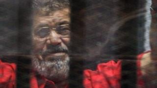 Morsi en la carcel