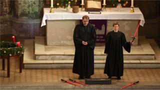 Crkvena služba u Berlinu koristi Ratove zvezda da mobiliše poklonike