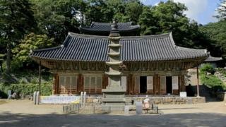 Magoksa temple in Gongju