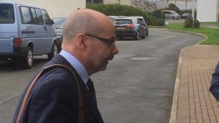 Simon Thomas at court