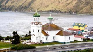 Церковь на острове Уналашка