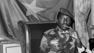President Thomas Sankara of Burkina Faso