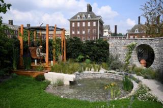 The Harmonious Garden of Life garden, designed by Laurelie de la Salle