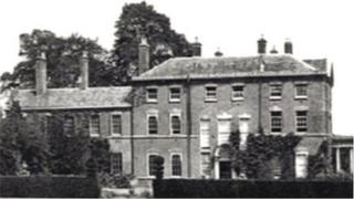 St Gilbert's building in the 1950s