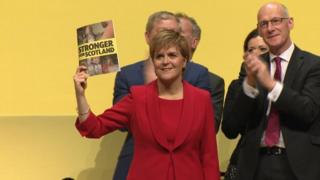 nicola sturgeon - stronger for scotkland