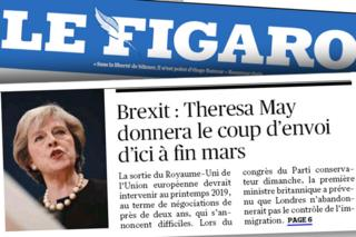 French paper Le Figaro