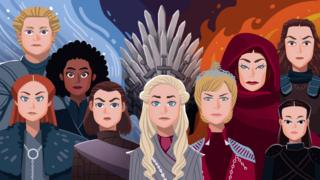 The women of Ice and Fire
