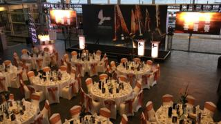 The St David Awards ceremony was held at the Senedd in Cardiff