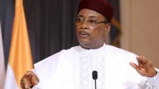 le président Nigerien Mahamadou Issoufou