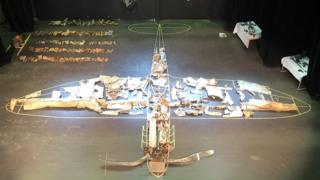 Spitfire AA180 laid out in Surnadal
