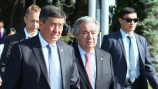 Антониу Гутерриш, Сооронбай Жээнбеков