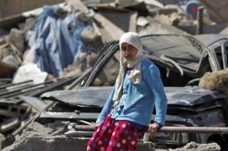 Yemen kız çocuğu