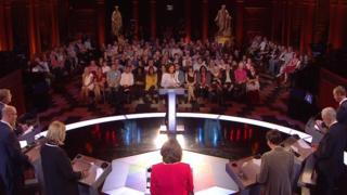The election debate audience