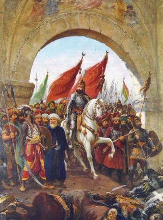 कुस्तुनतुनिया पर तुर्कों की जीत