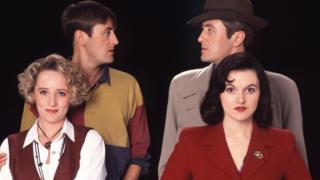 Nicholas Lyndhurst as Gary Sparrow, Michelle Holmes as Yvonne Sparrow and Dervla Kirwan as Phoebe Bamford