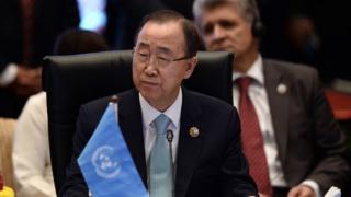 United Nations Secretary General Ban Ki-moon attends the 10th East-Asia meeting in Kuala Lumpur