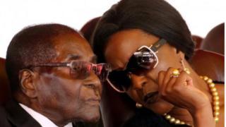 Роберт Мугабе и Грейс Мугабе