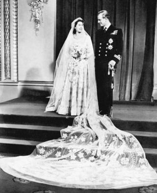 Принцесса Елизавета и принц Филипп