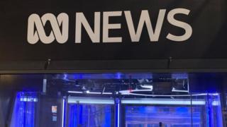 Studio giornalistico ABC a Sydney