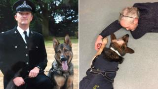 PC Dave Wardell and Finn