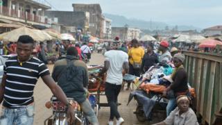 Fish market Bamenda