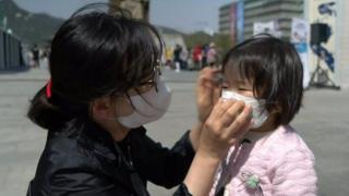 လေထုညစ်ညမ်းနေတဲ့ တောင်ကိုရီးယား