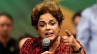 Dilma Rousseff ategerejwe kuvuga ijambo rikomeye muri sena kuri uyu wa Mbere