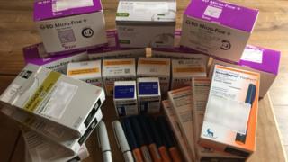Stockpiled diabetes medication