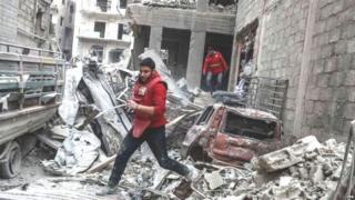 સીરિયાના સંઘર્ષની તસવીર