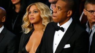 Jay-Z na mke wake Beyonce