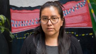Norma Jiménez, sobreviviente de tortura sexual praticada por policiais do México durante protesto