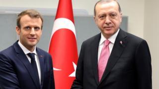 Cumhurbaşkanı Erdoğan ile Fransa Cumhurbaşkanı Macron Eylül ayında New York'ta bir araya gelmişti.