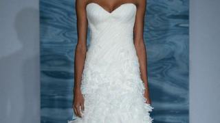 Model for wedding gown