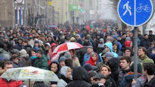 15 марта в Минске прошли массовые акции протеста
