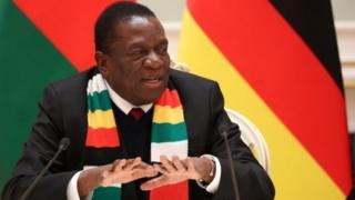 Mnangagwa alisafiri kwenda Ulaya kujaribu kushinikiza uwekezaji kwa Zimbabwe