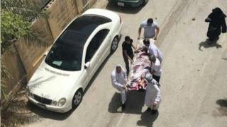 حمله نیروهای امنیتی به معترضان شیعه