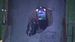 Sinkholes have opened up in the state