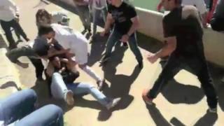 La bochornosa pelea en un partido de fútbol infantil en España