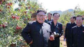 डोनाल्ड ट्रंप यांनी आपल्या भाषणात उत्तर कोरियाचा हुकुमशहा किम जोंग-ऊन यांचा 'रॉकेट मॅन' असा उल्लेख केला होता.