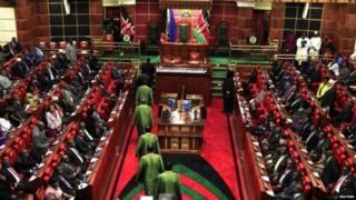 कीनियाई संसद