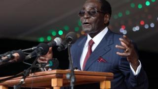 Discours du président Robert Mugabe le jour de son anniversaire, le 27 février 2016 à Masvingo.