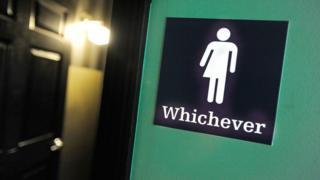 Photo of gender neutral bathroom