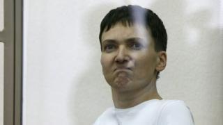 Umupilote w'indege za gisirikare wo muri Ukraine Nadia Savchenko yiyicishije inzara ku wa 09/03/2016