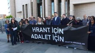 """""""Hrant'ın Arkadaşları"""" oluşumu üyeleri"""