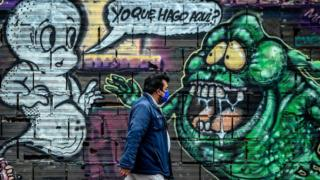 Grafiti en Bogotá.