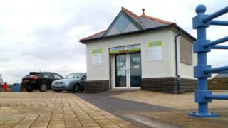 Harbour Sports fishing bait shop in Porthcawl