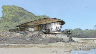 Artist's impression - Bluestone Holy Island Resort