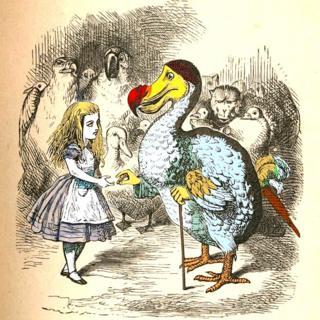 Alicia con Dodo