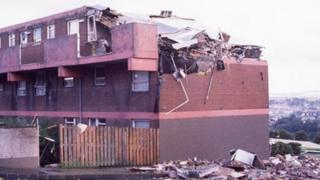 Aftermath of 'Good Samaritan' bombing in Derry